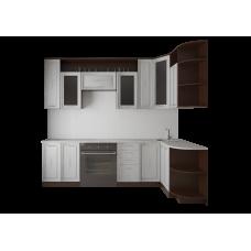 """Кухня """"Виола"""" (со стеклом), МДФ"""