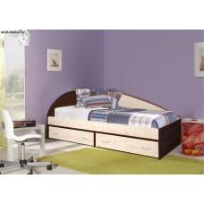 Кровать 1-но спальная «Крепыш 03»
