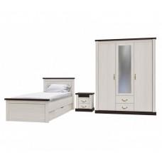 Набор мебели для жилой комнаты «ТАУЭР-9» (Спальня-2)