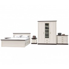 Набор мебели для жилой комнаты «ТАУЭР-10» (Спальня-3)
