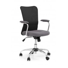 Кресло компьютерное Halmar ANDY (серый/черный)