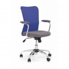 Кресло компьютерное Halmar ANDY (серый/синий)